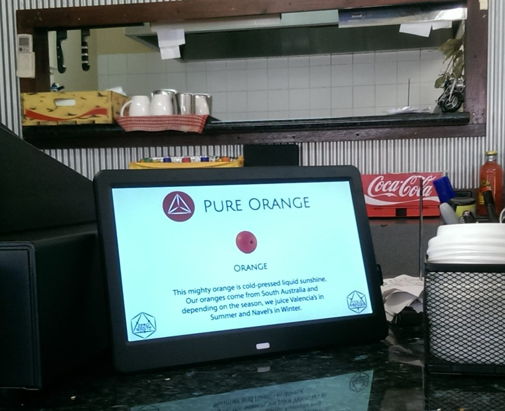 Pure and Healthy Digital Display